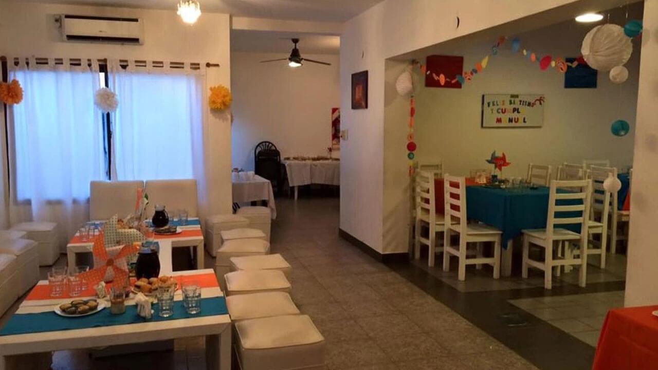 Salón para fiestas, eventos y cumpleaños en Nuñez   Saltimbanqui Eventos